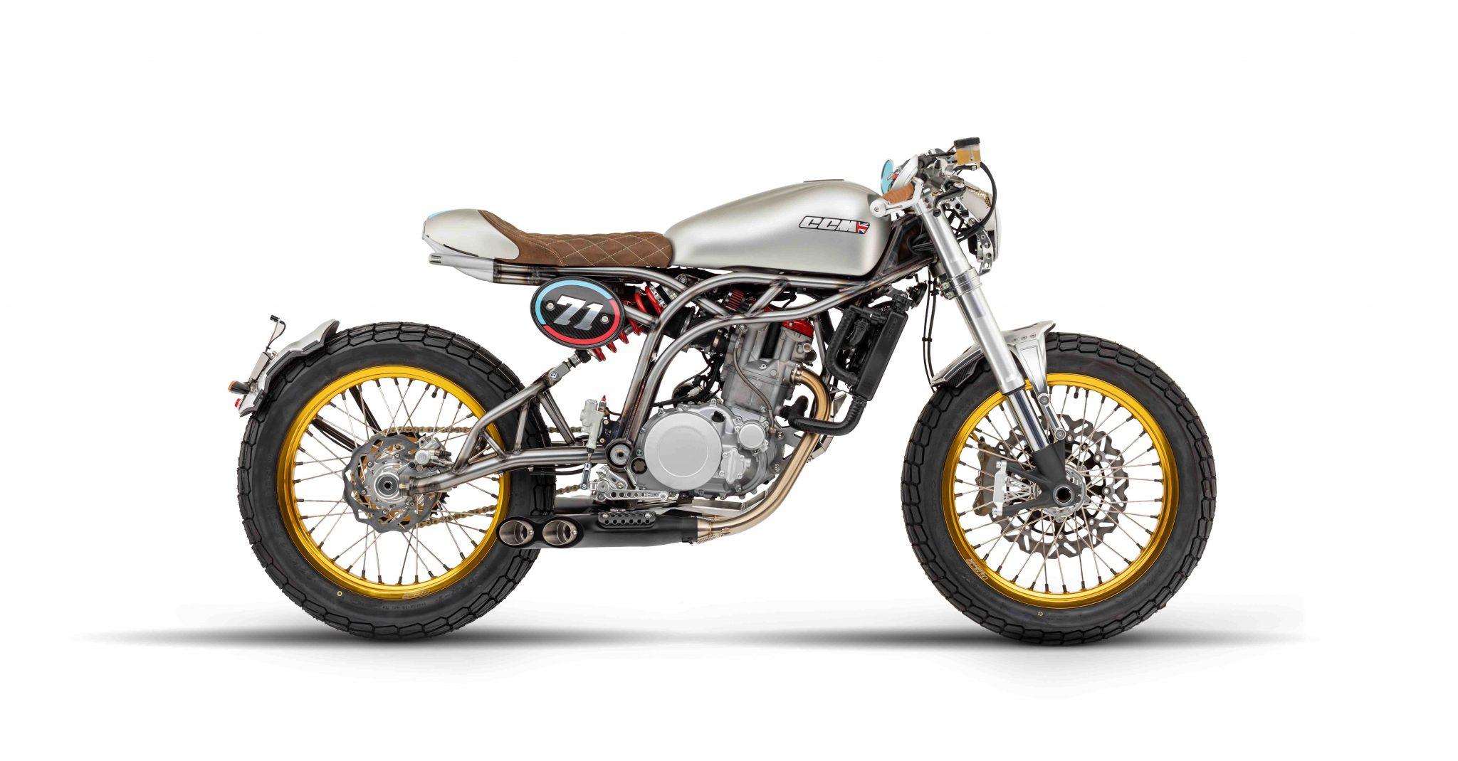 CCM Motorcycles   Spitfire Café Racer